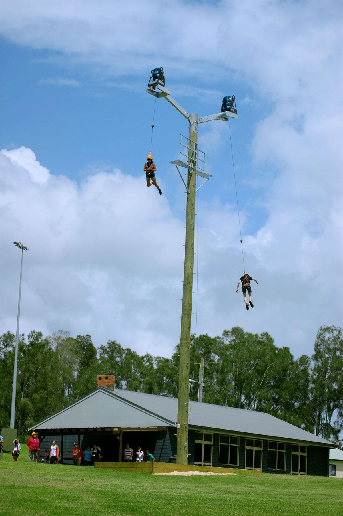 Power Fan Aussie Bush Camp